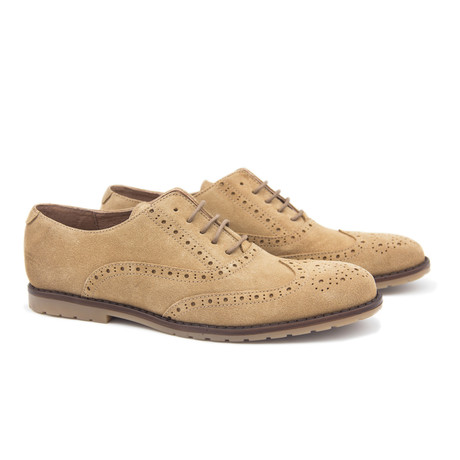 Leather Oxford // Mushroom (Euro: 40)