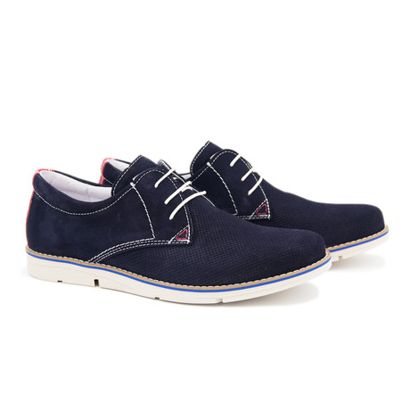 Neo Casual Blucher // Midnight Blue (Euro: 40)