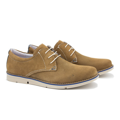 Casual Blucher + Tan Sole // Taupe (Euro: 40)