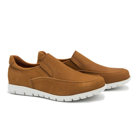 Elastic Shoe // Leather Brown (Euro: 40)