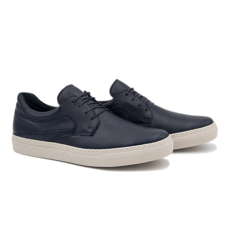 Casual Blucher // Midnight Blue (Euro: 40)