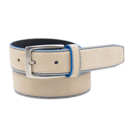 "Split Belt // Beige (39"")"