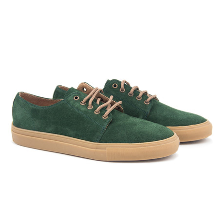Leather Sport Shoe // Green (Euro: 40)