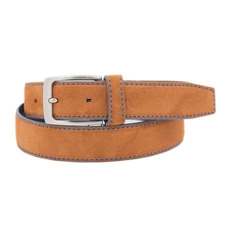 "Split Belt // Leather Brown (39"")"