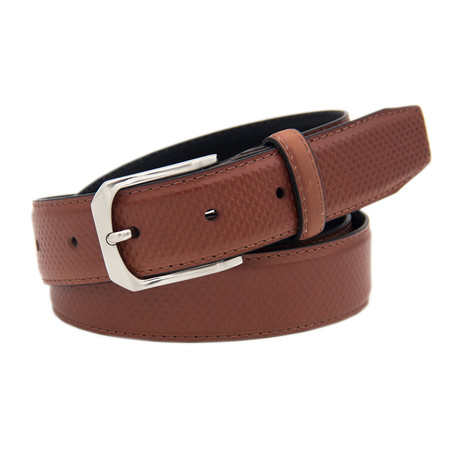 "Leather Belt // Maroon (39"")"
