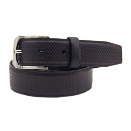 "Leather Belt // Black (39"")"