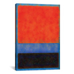 "Rothko Style Red Black And Blue // Tom Quartermaine (12""W x 18""H x 0.75""D)"