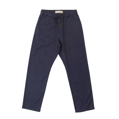 Acadia Hemp + Organic Cotton Blend Pant // Navy (XS)