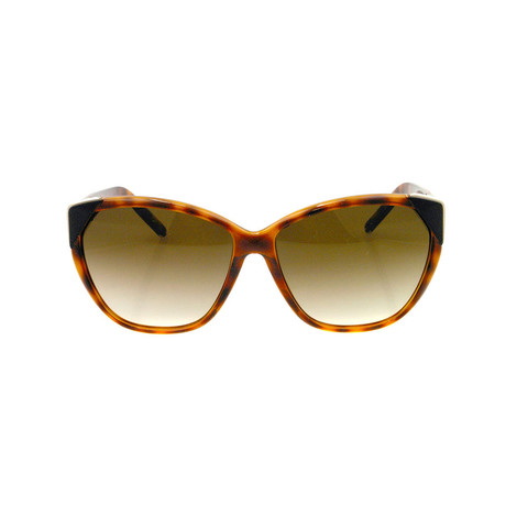 Chloe // Cat Eye Sunglasses // Tortoise + Brown Gradient