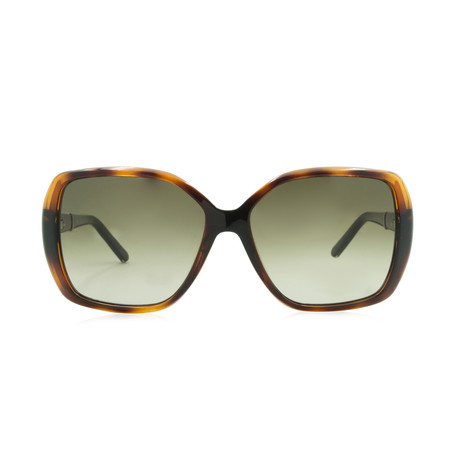 Chloe // Square Sunglasses // Tortoise + Brown Temples + Brown Gradient