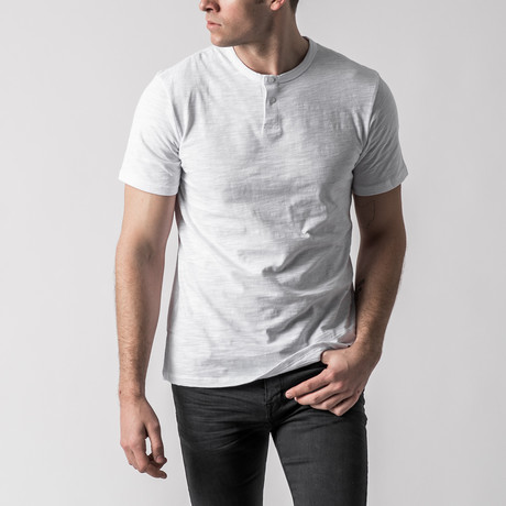 Season II Classic Slim Fit Henley Bundle // Set of 3 (S)