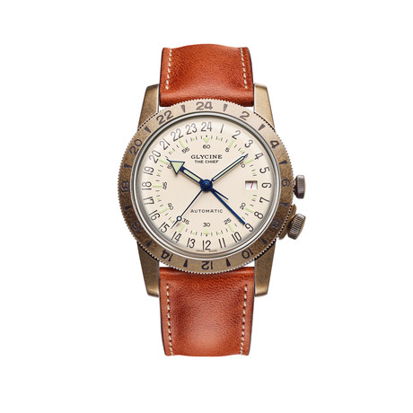 Glycine Airman Vintage The Chief GMT Automatic // GL0245
