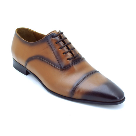 Norm Dress Shoes // Light Tobacco (Euro: 39)