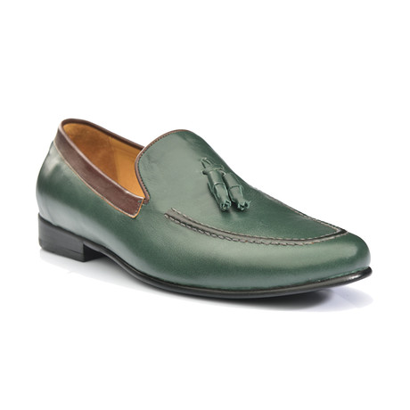 Didier Dress Shoes // Green (Euro: 39)
