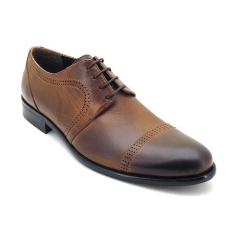 David Dress Shoes // Brown (Euro: 39)
