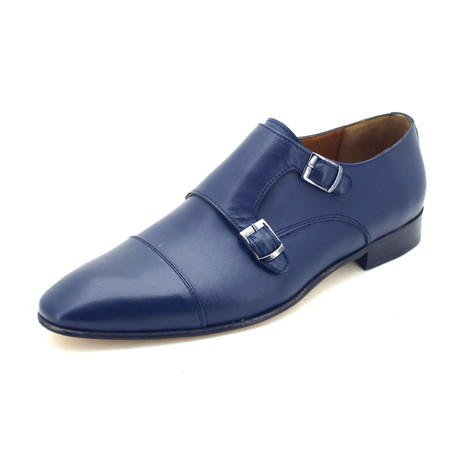 Marcossini Dress Shoes // Dark Blue (Euro: 39)