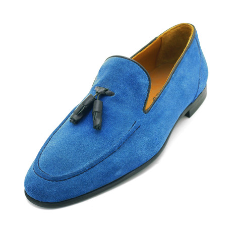 Pascal Dress Shoes // Blue (Euro: 39)