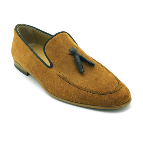 Pascal Dress Shoes // Tobacco (Euro: 39)