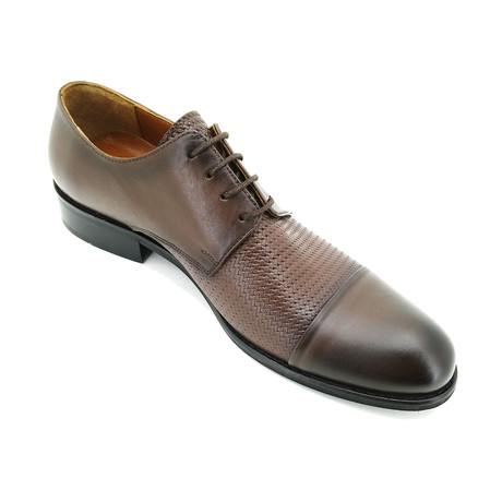 Robert Dress Shoes // Dark Brown (Euro: 39)