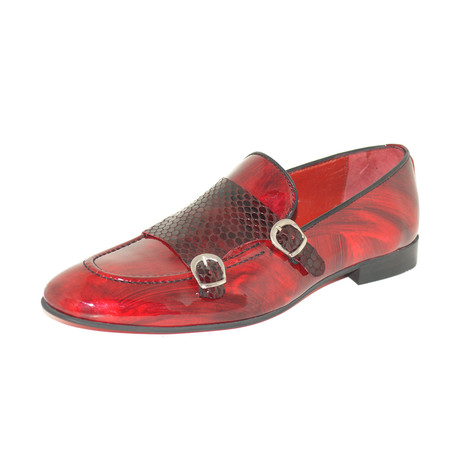 Russo Monkstrap // Bordeaux (Euro: 39)