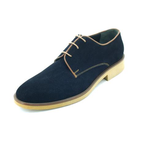 Sam Dress Shoes // Dark Blue (Euro: 39)