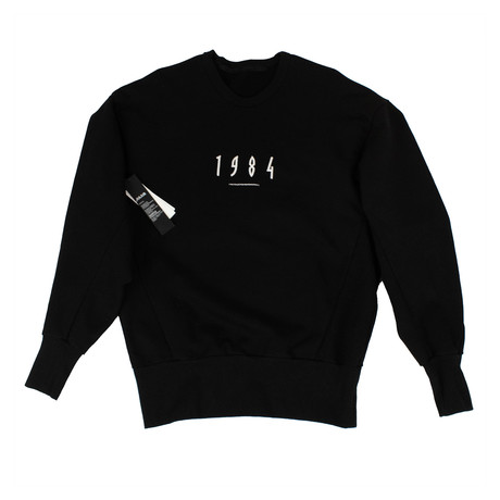 Julius 7 // 1984 Crewneck Sweater // Black (XS)
