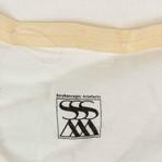 Julius 7 // Short Sleeve Printed Crewneck T-Shirt // White (S)