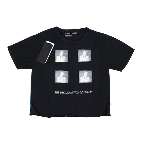 Enfants Riches Deprimes // Violets T-Shirt // Black (XS)
