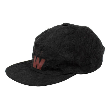 Off-White // Suede Ladder Baseball Cap // Black