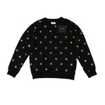 Palm Angels // All Stars Crew Neck Sweater // Black (M)