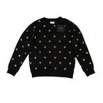 Palm Angels // All Stars Crew Neck Sweater // Black (XL)