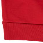 424 // 424 Today Cotton Hoodie Sweatshirt // Red (XL)