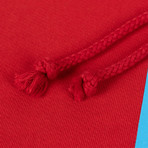 424 // 424 Today Cotton Hoodie Sweatshirt // Red (XS)