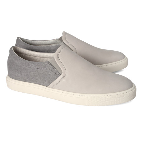 Alessandro Slip On Loafer // Gray (Euro: 39)