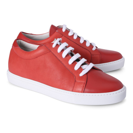 Giacomo Fashion Sneaker // Crimson (Euro: 39)