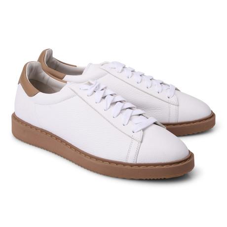 Luca Fashion Sneaker // White (Euro: 39)