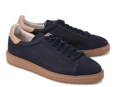 Photo of Brunello Cucinelli Exemplary Designer Footwear Bram Fashion Sneaker // Navy Blue (Euro: 42) by Touch Of Modern