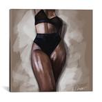"""Black Woman // El'Cesart (18""""W x 18""""H x 0.75""""D)"""