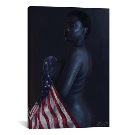 """Lady Liberty // El'Cesart (18""""W x 26""""H x 0.75""""D)"""