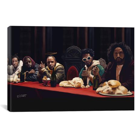 """Last Supper // El'Cesart (26""""W x 18""""H x 0.75""""D)"""