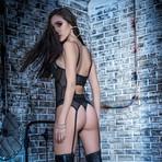 Victoria Garter Straps // 2 Pieces // Black (S)