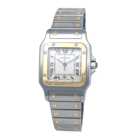 Cartier Santos Galbee Quartz // 187901 // Pre-Owned
