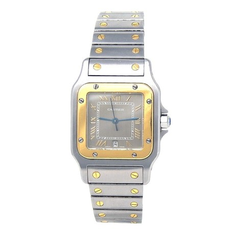 Cartier Santos Galbee Quartz // 187901G // Pre-Owned