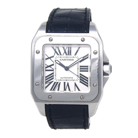 Cartier Santos 100 Automatic // W20073X8 // Pre-Owned