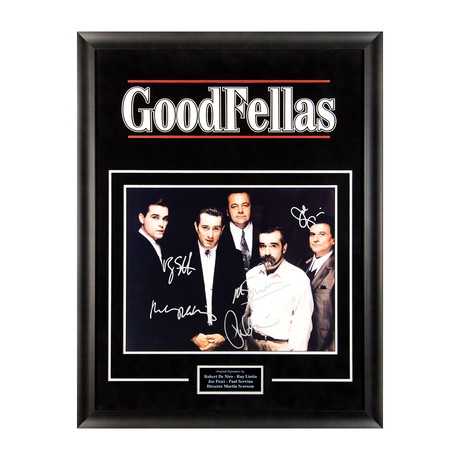 Signed + Framed Artist Series // Goodfellas