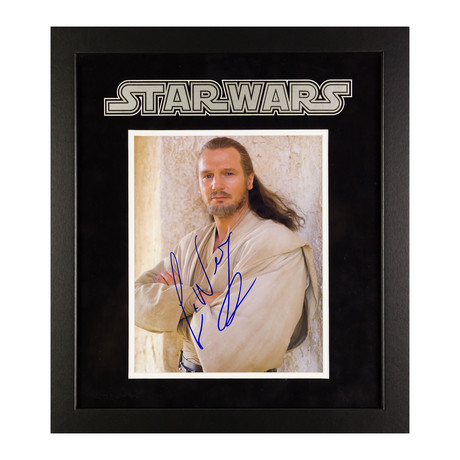 Signed + Framed Artist Series // Qui Gon Jinn