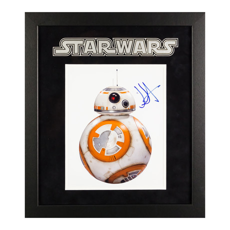 Signed + Framed Artist Series // BB-8