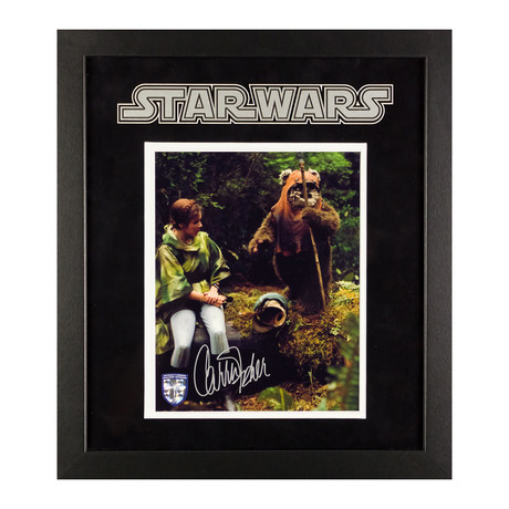 Signed + Framed Artist Series // Princess Leia