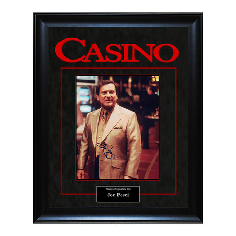 Signed + Framed Artist Series // Casino