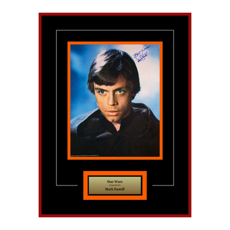 Signed + Framed Artist Series // Luke Skywalker